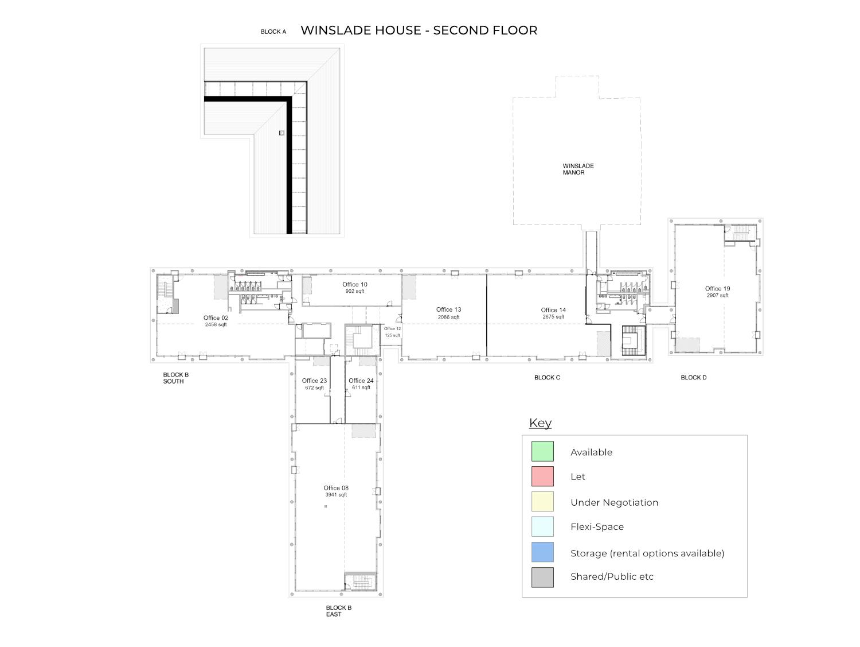 Winslade House, second floor, Winslade Park Exeter