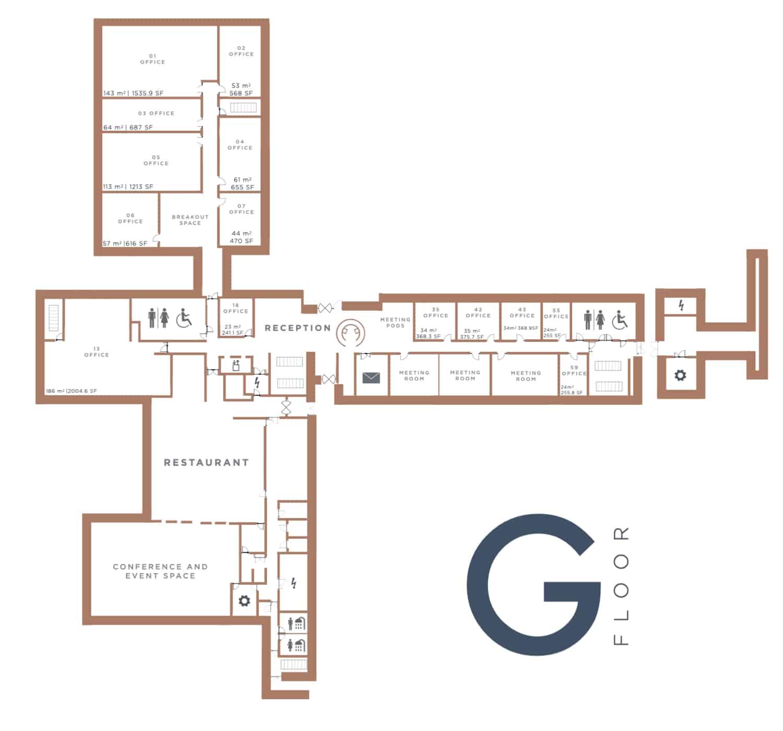 Winslade House, ground floor, Winslade Park Exeter
