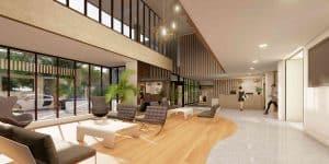 Reception Area Winslade House, Winslade Park Exeter